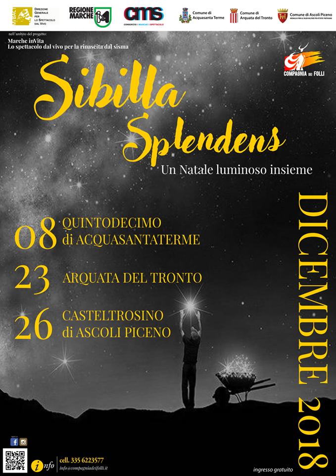 Sibilla Splendens_Locandina